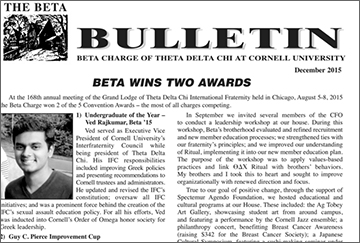 beta bulletin